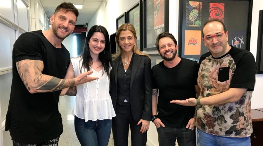 Agora O Bicho Vai Pegar: Presença da patrocinadora do Palmeiras, Leila Pereira