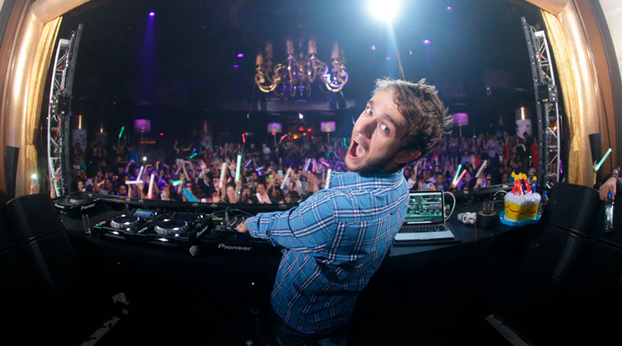 Promoção Show do Zedd em Las Vegas