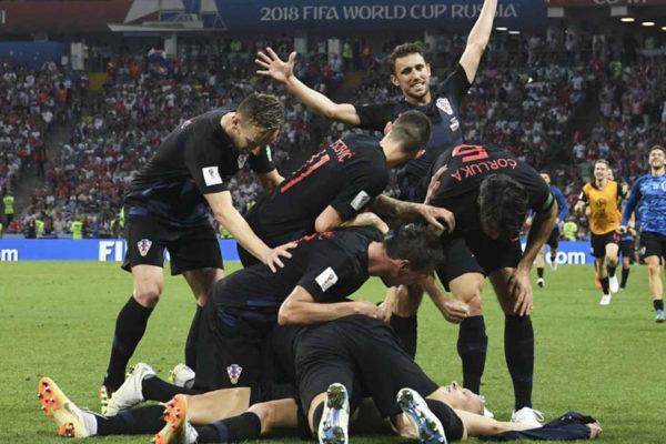 Rolê Na Rússia: Croácia na primeira final