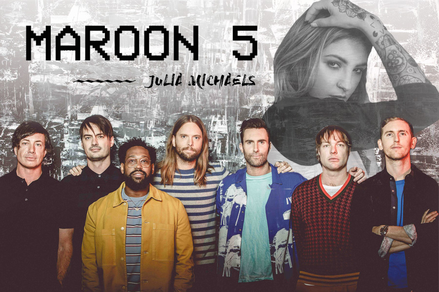 Promoção A Mix te leva para ver Maroon 5 e Julia Michaels nos EUA