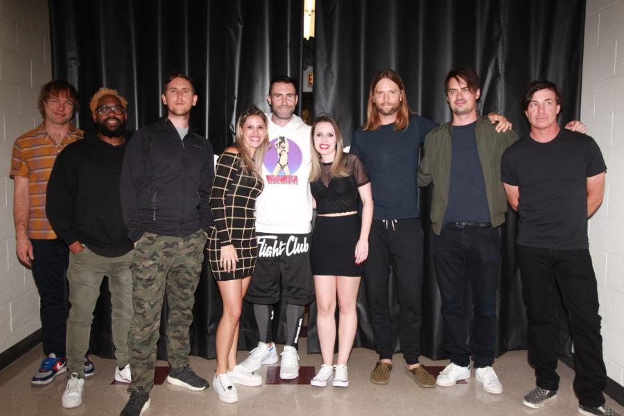 Ganhadora da promoção Maroon 5